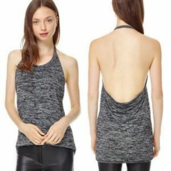 Wilfred Free VEUC Heathered Grey Antonia Halter